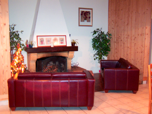 Frejus hotel lounge area serre chevalier